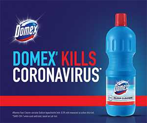 Domex Protects Against Viruses