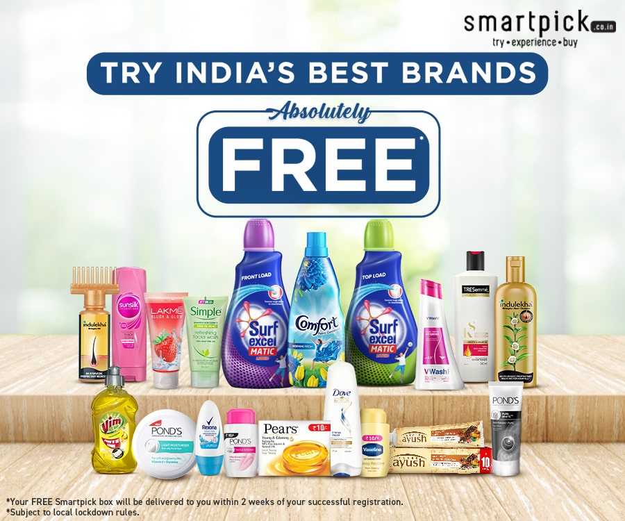 Try India's best brands before you buy absolutely free